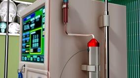 血液透析 免版税库存图片