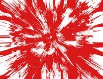 血液飞溅声 图库摄影