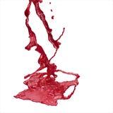 血液飞溅 库存照片