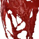 血液飞溅 免版税库存照片