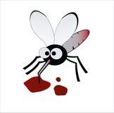 血液饮者蚊 免版税图库摄影