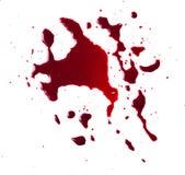 血液滴水 免版税库存照片