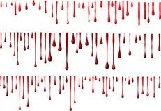 血液grunge 库存图片