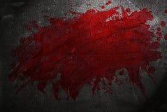 血液splat 免版税库存图片