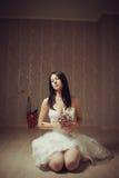 血淋淋的新娘 免版税库存图片