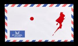 血淋淋的邮件 免版税图库摄影