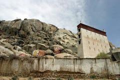 血清修道院在西藏 库存图片