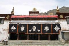 血清修道院在西藏 免版税库存照片