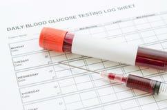 血糖控制概念 库存照片