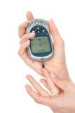 血糖级别评定的测试 库存图片