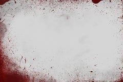 血腥的墙壁场面 免版税库存照片