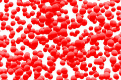 血细胞背景 免版税图库摄影