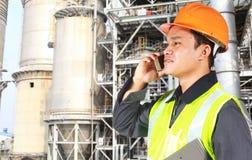 行业化学工程师 免版税图库摄影