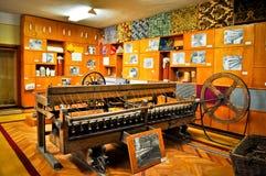 行业博物馆纺织品 库存图片