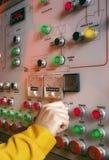 行业控制板 免版税库存图片