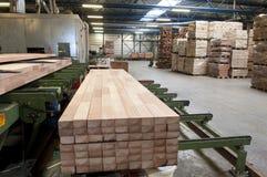 行业木料 库存照片