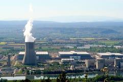 行业核能站点 免版税图库摄影
