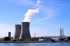 行业核能站点 免版税库存图片