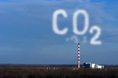 行业污染 免版税库存图片
