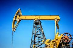 行业油泵俄国 石油工业equipment.oil和气体加工设备 库存照片