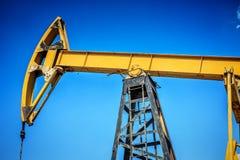 行业油泵俄国 石油工业equipment.oil和气体加工设备 库存图片