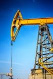 行业油泵俄国 石油工业equipment.oil和气体加工设备 免版税图库摄影