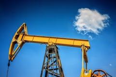 行业油泵俄国 石油工业equipment.oil和气体加工设备 图库摄影