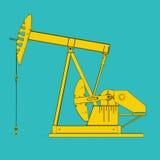 行业油泵俄国 免版税库存照片