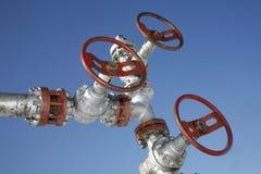 钻行业油西伯利亚适当的西部 免版税图库摄影