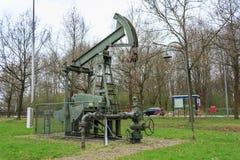 钻行业油西伯利亚适当的西部 库存图片