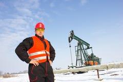 钻行业油西伯利亚适当的西部 库存照片