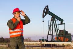 钻行业油西伯利亚适当的西部 免版税库存照片