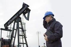 钻行业油西伯利亚适当的西部 免版税库存图片