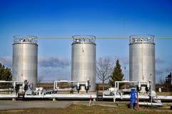 行业油 免版税库存图片