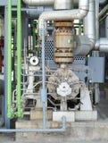 行业泵装置 免版税图库摄影