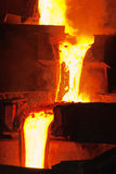 行业熔炼 免版税库存照片