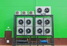 行业空调器 库存照片