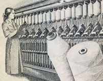 行业纺织品 免版税库存照片
