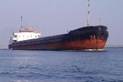 行业船 免版税图库摄影