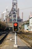 行业铁路运输围场   免版税库存照片