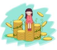 行业Illust 免版税库存图片