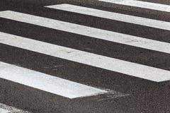 行人交叉路 免版税库存照片