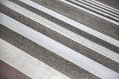 行人交叉路 图库摄影