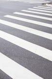 行人穿越道车道 免版税图库摄影