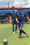 行动的, Kampot柬埔寨足球运动员 柬埔寨 库存图片