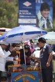 行动的, Tupiza市场自然果汁供营商 流星锤 库存图片
