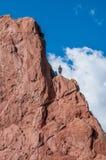 攀岩 免版税库存照片