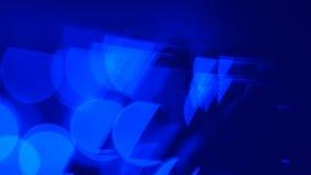 行动蓝色摘要点燃背景 股票视频