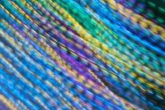 行动被弄脏的狂欢节光创造抽象织地不很细背景 图库摄影