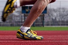 行动赛跑者 免版税库存照片